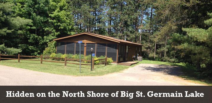 St germain lodge on big st germain lake near st for Wisconsin fishing lodges